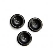 Gumb, kostimski, črna, 28 mm 15952-0093
