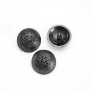 Gumb, kostimski, metalna bombica, 26 mm, 15952-0165