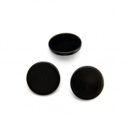 Button, for suits, black, 18mm, 15952-0094