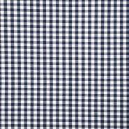 Pamuk, karo, 3186-1, plava