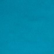 Semiš, brušeno pletivo, 13626-024, tirkizna