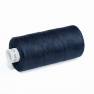Thread 1000, drak blue, 6-102
