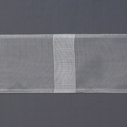 Curtain heading tape, loops, 100mm, 15977, transparent