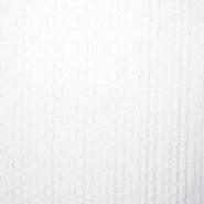 Baumwolle, Popeline, Elastan, Kreise, 16017-701, weiß