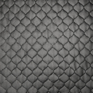 Quilted lining, dots, 16081-069, black
