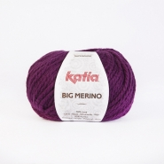 Wool, Big merino, 15040-27, fuschia