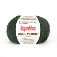 Wool, Basic merino, 15041-15, green