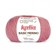 Volna, Basic merino, 15041-26, roza