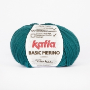 Wool,  Basic merino, 15041-39, turquoise