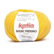 Vuna, Basic Merino, 15041-64, žuta