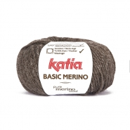 Wool, Basic merino, 15041-8, brown