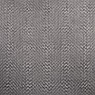 Dekor tkanina Queen, cik-cak, 16108-601, tamno siva