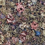 Jersey, viskoza, cvetlični, 16116-008