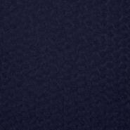 Čipka, vrtnice na mreži, 16117-008, modra