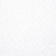 Čipka, vrtnice na mreži, 16117-051, bela