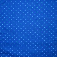 Pamuk, popelin, zvijezde, 16150-104, plava