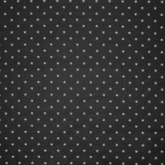Cotton, poplin, stars, 16150-161, black