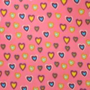 Velur, srca, 16139-002, roza