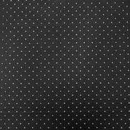 Umetno usnje, oblačilno, zvezdice, 16148-069, črna