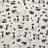 Deco, print, cats, 16156-01