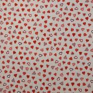 Deco, print, hearts, 15188-68
