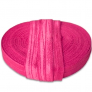 Elastic bias tape, 15 mm, 16181-11344, fuschia