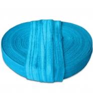 Elastic bias tape, 15 mm, 16181-40587, turquoise