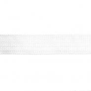 Strip, webbing, width 40 mm, 16183-21013, white