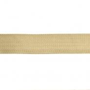 Traka, gurtna, širina 40 mm, 16183-41043, bež