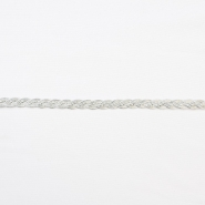 Trim, braid, 16195-10656, silver