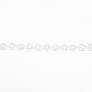 Traka, cvijeće, 16202-40983, bijela