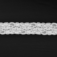 Lace, elastic, 55mm, 16204-41006, cream