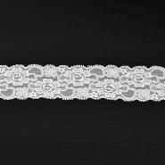 Čipka, elastična, 55 mm, 16204-41006, krem