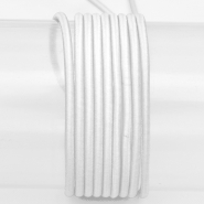 Elastic strip, round 3mm, 16206-41616, white