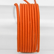 Elastic strip, round 3mm, 16206-41614, orange