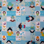 Cotton, poplin, patchwork, 16233-5029