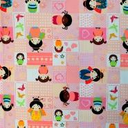 Cotton, poplin, patchwork, 16233-5017