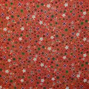 Bombaž, poplin, praznični, 16249-5019