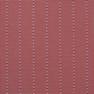 Deko žakard, podeželjski, 16165-02, rdeča