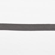 Trak, gurtna, širina 25 mm, 16182-10379, siva