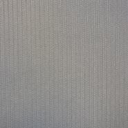 Žakard, cik cak, 16269-2, črno bela