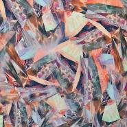 Jersey, poliester, abstraktni, 16274-018