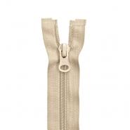 Zadrga, deljiva 100 cm, 6 mm, 2049-715, bež