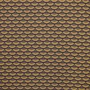 Jersey, bombaž, geometrijski, 16281-38