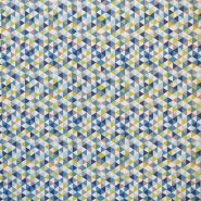 Bombaž, poplin, geometrijski, 16373-1