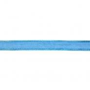 Traka, organza, 13500-02, plava