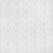 Čipka, geometrijska, krugovi, 16418-701, bijela