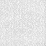 Čipka, geometrijska, krogi, 16418-701, bela