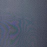 Chiffon, Punkte, 16505-9, blau