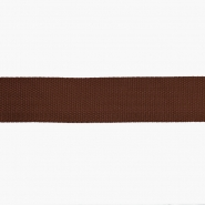 Strip, webbing, 40 mm, 16183-41040, brown